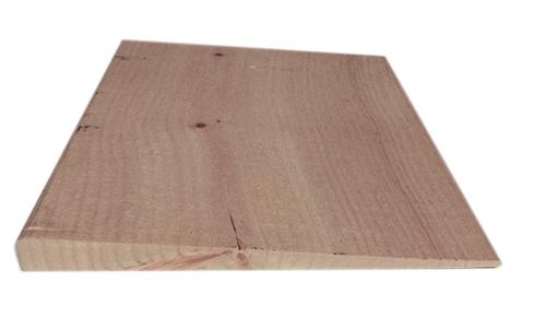 1'' X 10'' bevel siding rough sawn face